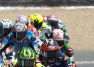Départ du Grand-Prix moto à Assen