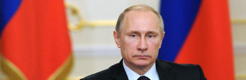 Le président russe Vladimir Putine