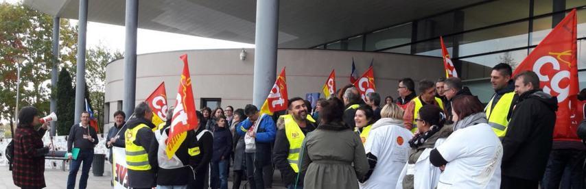 Le personnel en psychiatrie régulièrement en grève