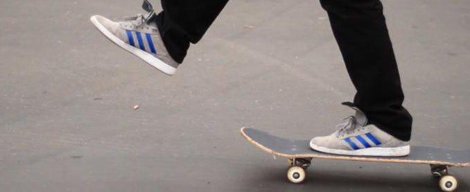 Un skateboard pour débutant